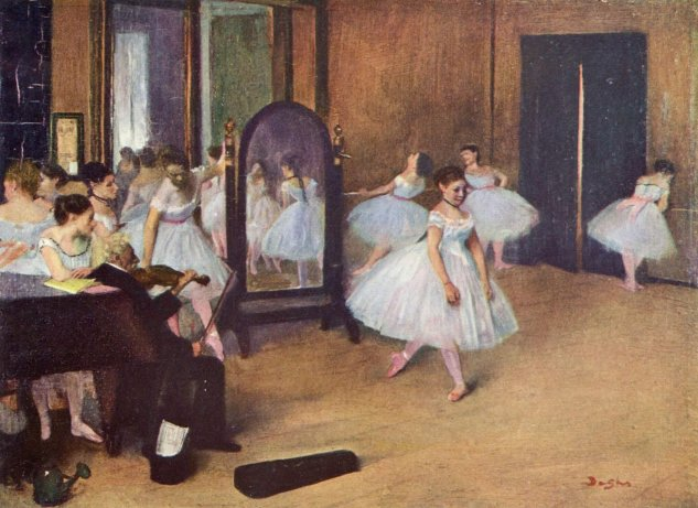 La sala de baile-Edgar degas