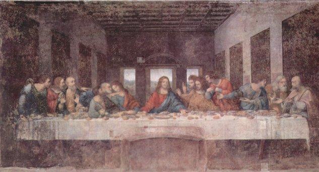 La última cena - Leonardo  da Vinci - artelista.com
