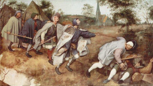 Parábola de los ciegos -  Pieter  Brueghel - artelista.com
