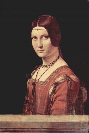 Retrato de una joven (la belle Ferronière)
