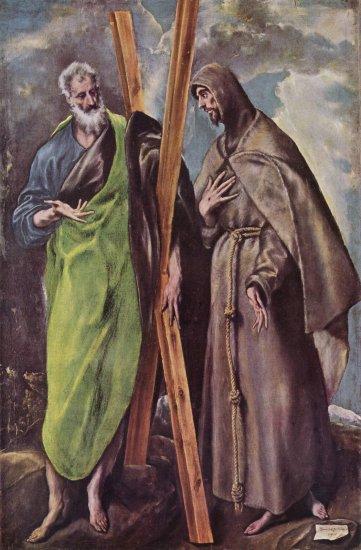 Santos Andrés y Francisco El Greco