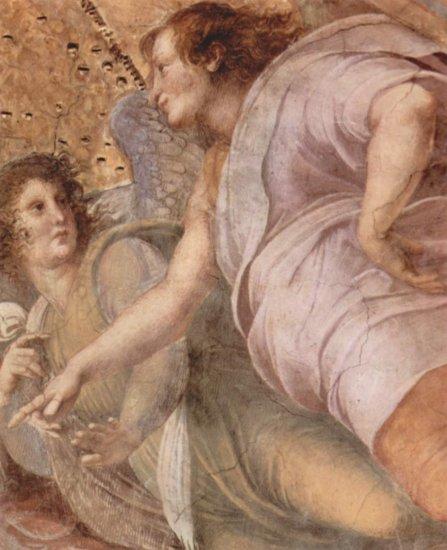 Stanza della Segnatura en el Vaticano para Julio II, fresco mural