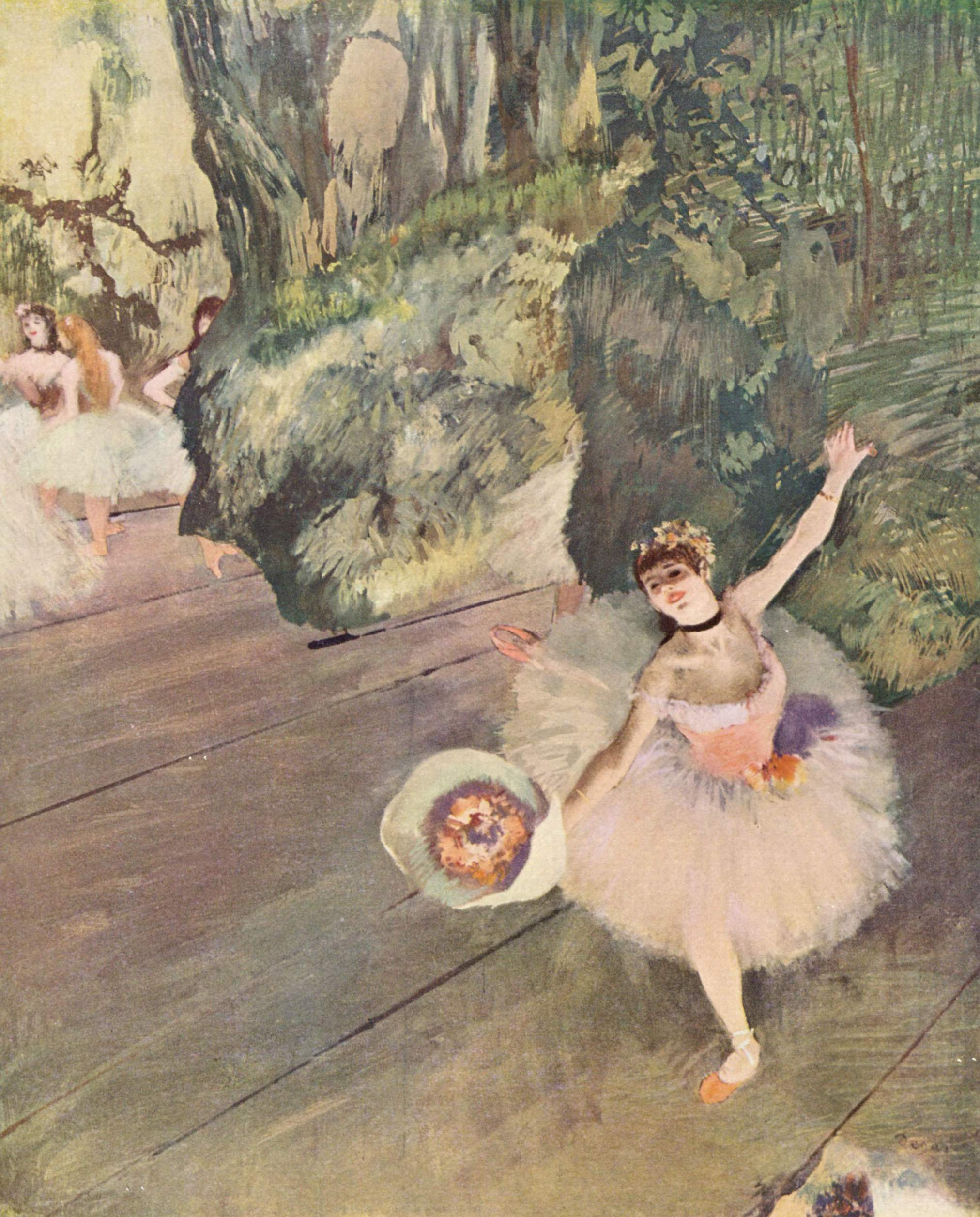 edgar degas Introduction to edgar degas, french sculptor & impressionist painter, whose  favorite theme became the female ballet dancer during the early 1870s born in.