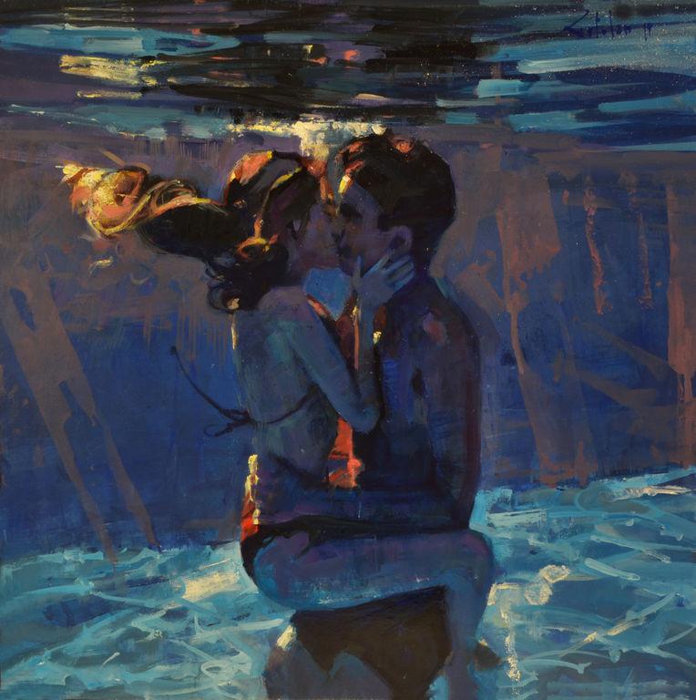Un beso en lo profundo, Marco Ortolan.
