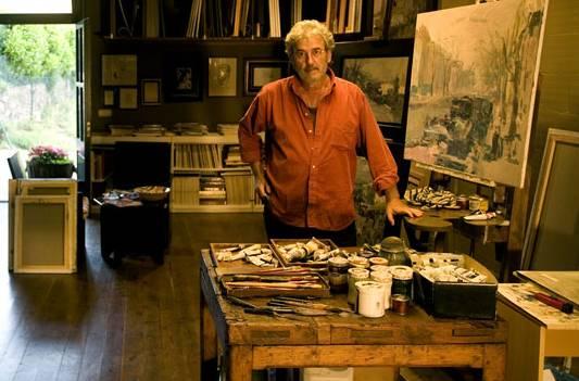 Josep Cruañas. Atmósfera y dinamismo