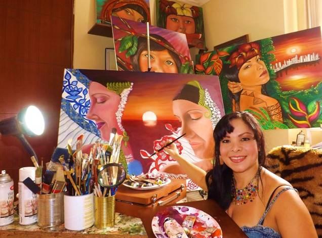 Desde mi taller: Lineth Márquez
