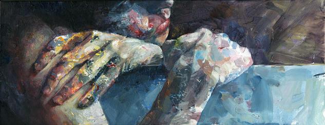 David Agenjo: pintura a flor de piel
