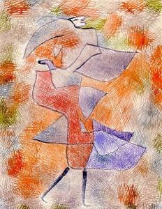 Diana en el viento de otoño. Paul Klee. 1921.