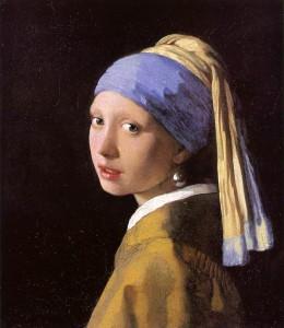La joven de la perla. Hacia 1667. Johannes Vermeer