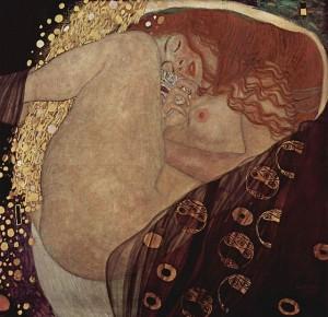 Dánae. 1907- 1908. Gustav Klimt