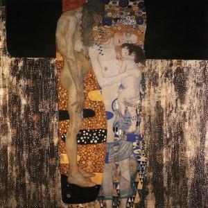 Las tres edades de la mujer. 1905. Gustav Klimt