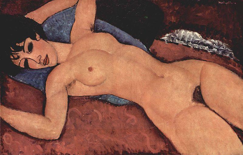 Modigliani, a solas con el artista
