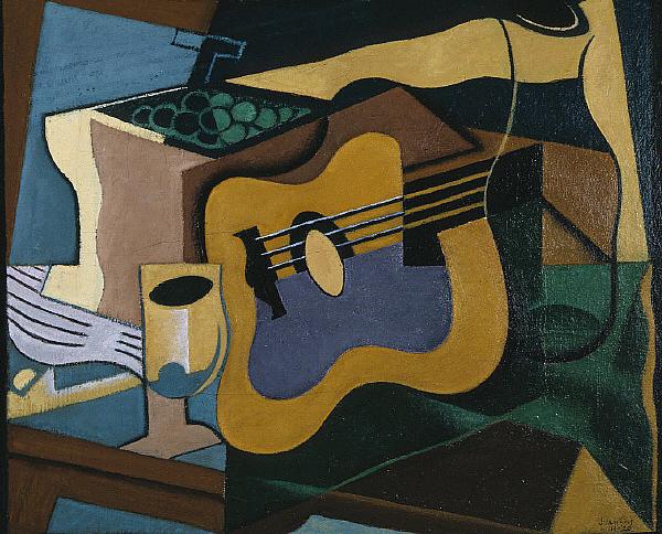 Naturaleza muerta con guitarra. 1920. Juan Gris