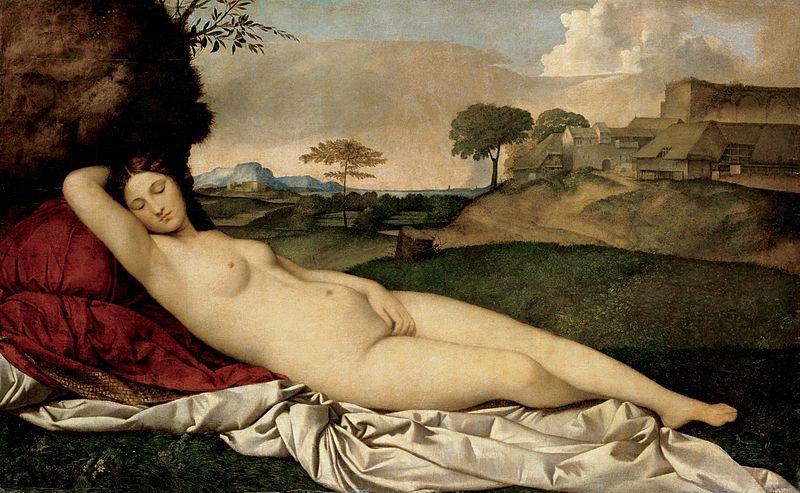 ¿Venus dormida o Venus de Urbino?