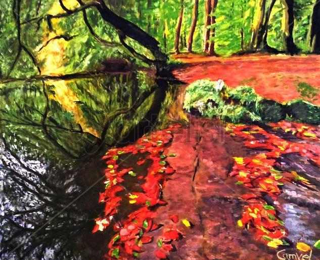 Eco en el agua. Miguel Campillo Velasco