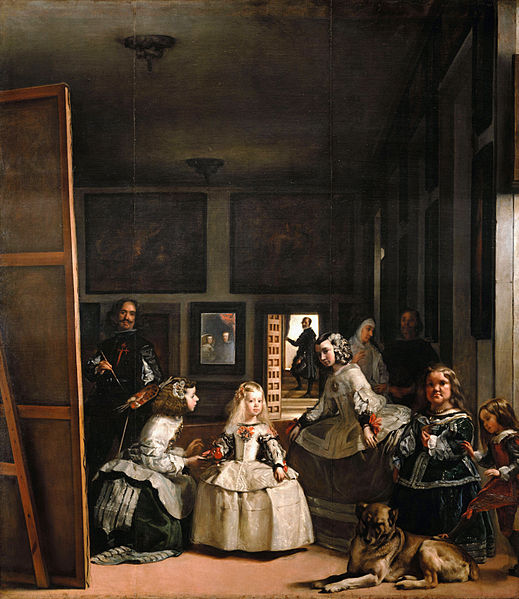 La pintura ante el espejo