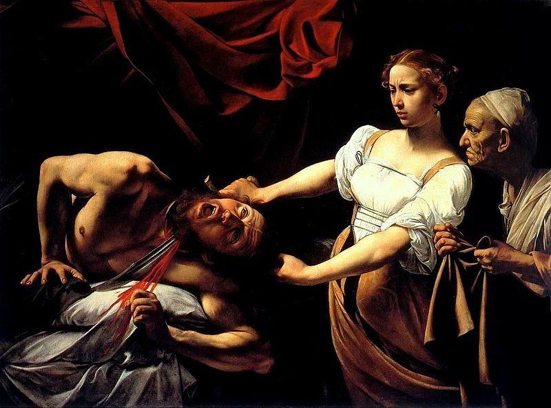 Caravaggio y Rembrandt, cara a cara