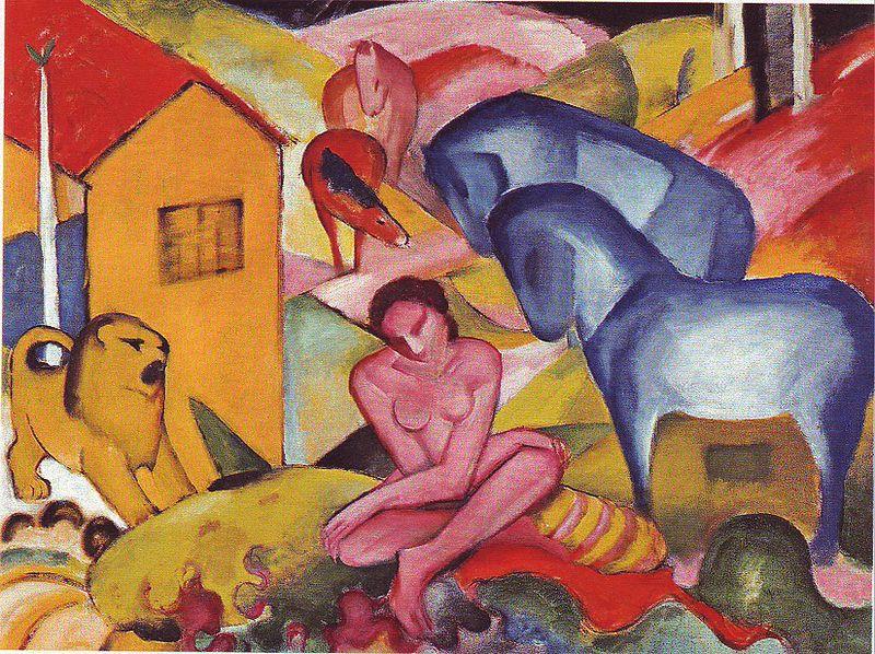 Der Blaue Reiter, la regeneración espiritual del arte