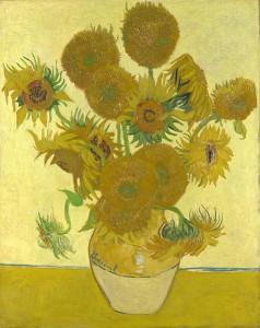 Los girasoles. 1888. Vincent van Gogh