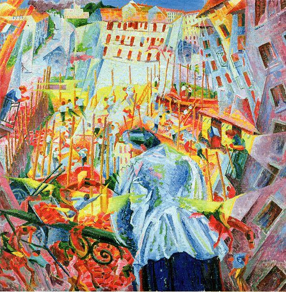 Boccioni y el futurismo: la exaltación de la violencia