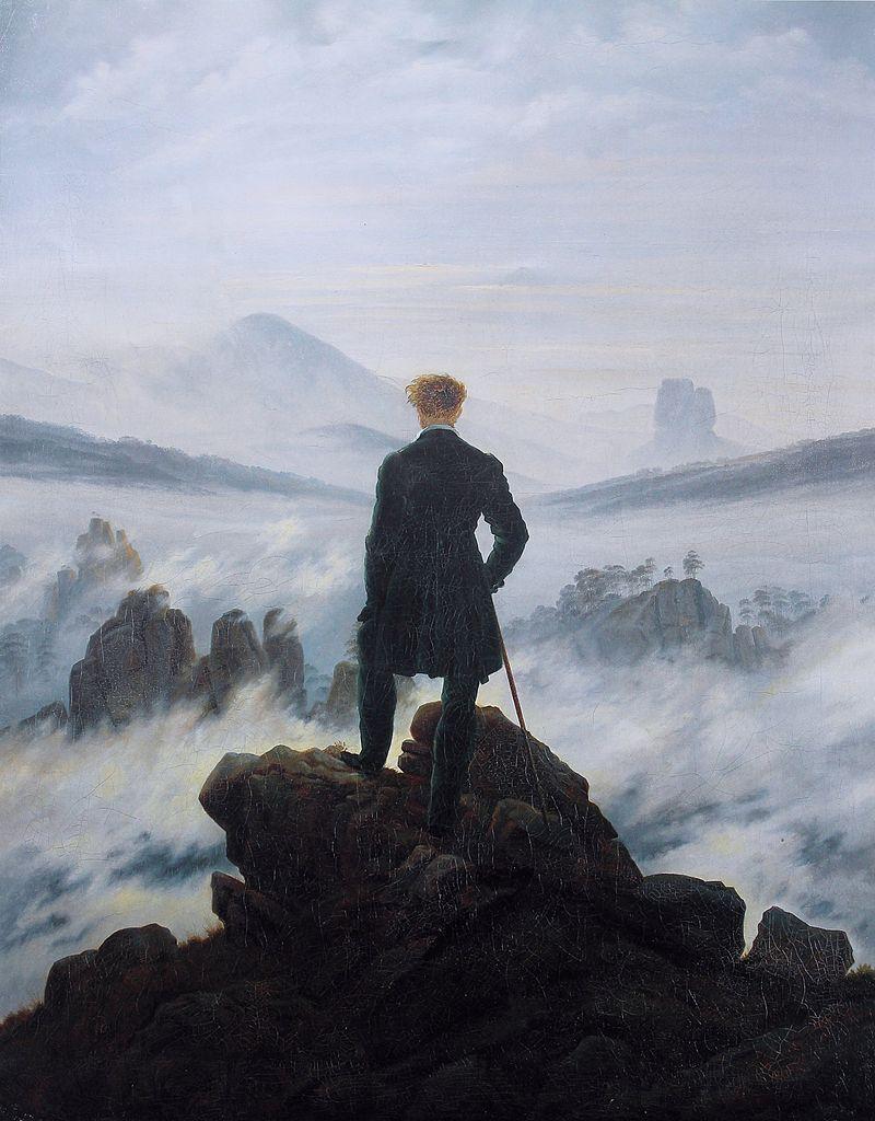 Friedrich: la construcción de un nuevo paisaje