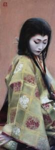 Abutsu- ni, geisha arte japonés. Phil Couture