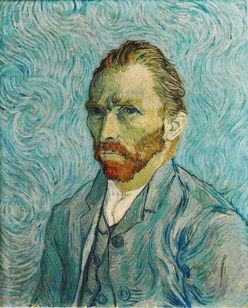 Van Gogh, desangrado en la escalera