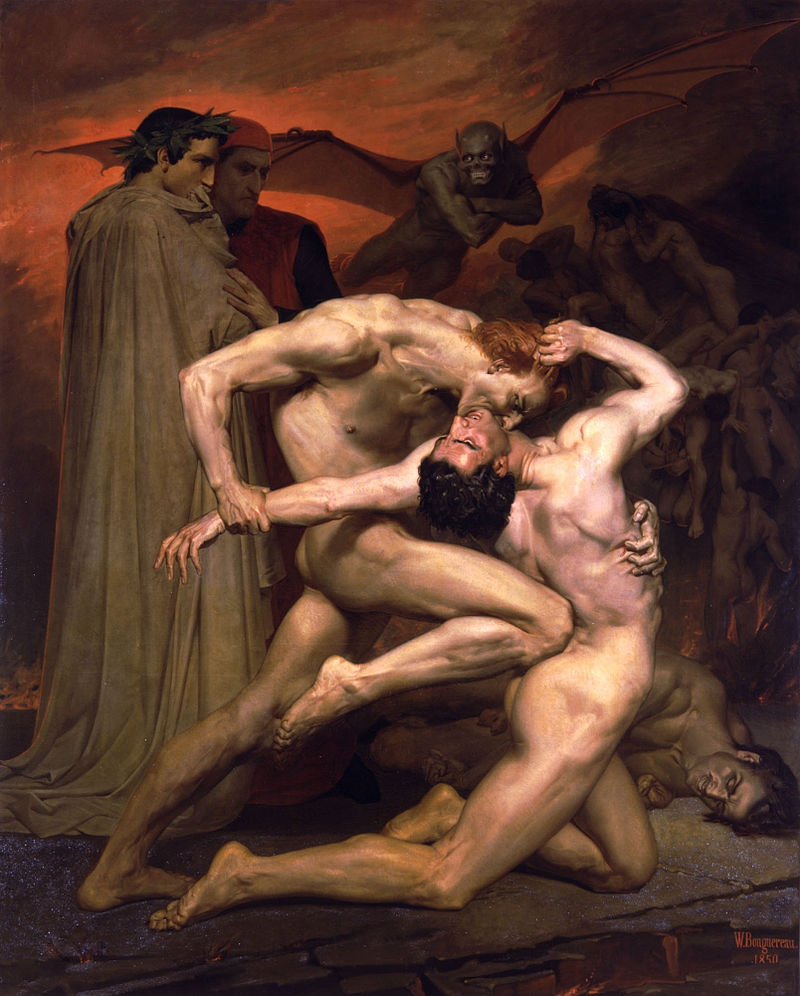 Dante y Virgilio. 1850. William- Adolphe Bouguereau