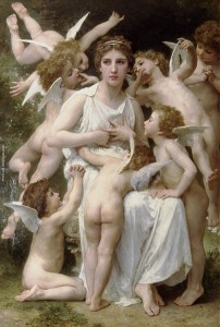 El Asalto. 1898. William- Adolphe Bouguereau