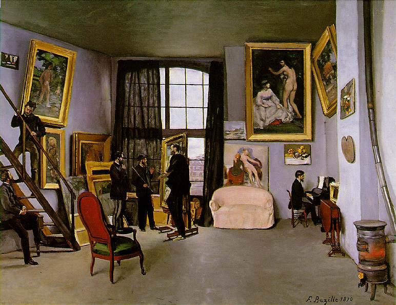 El taller del pintor, el lado más íntimo del artista