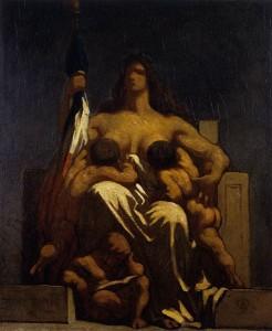República. Hacia 1848. Honoré Daumier