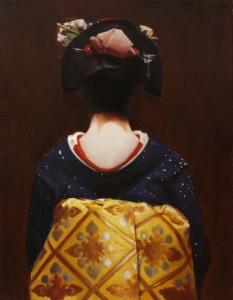 The Scarlet Fringe (Katsumoto) japonés geisha. Phil Couture
