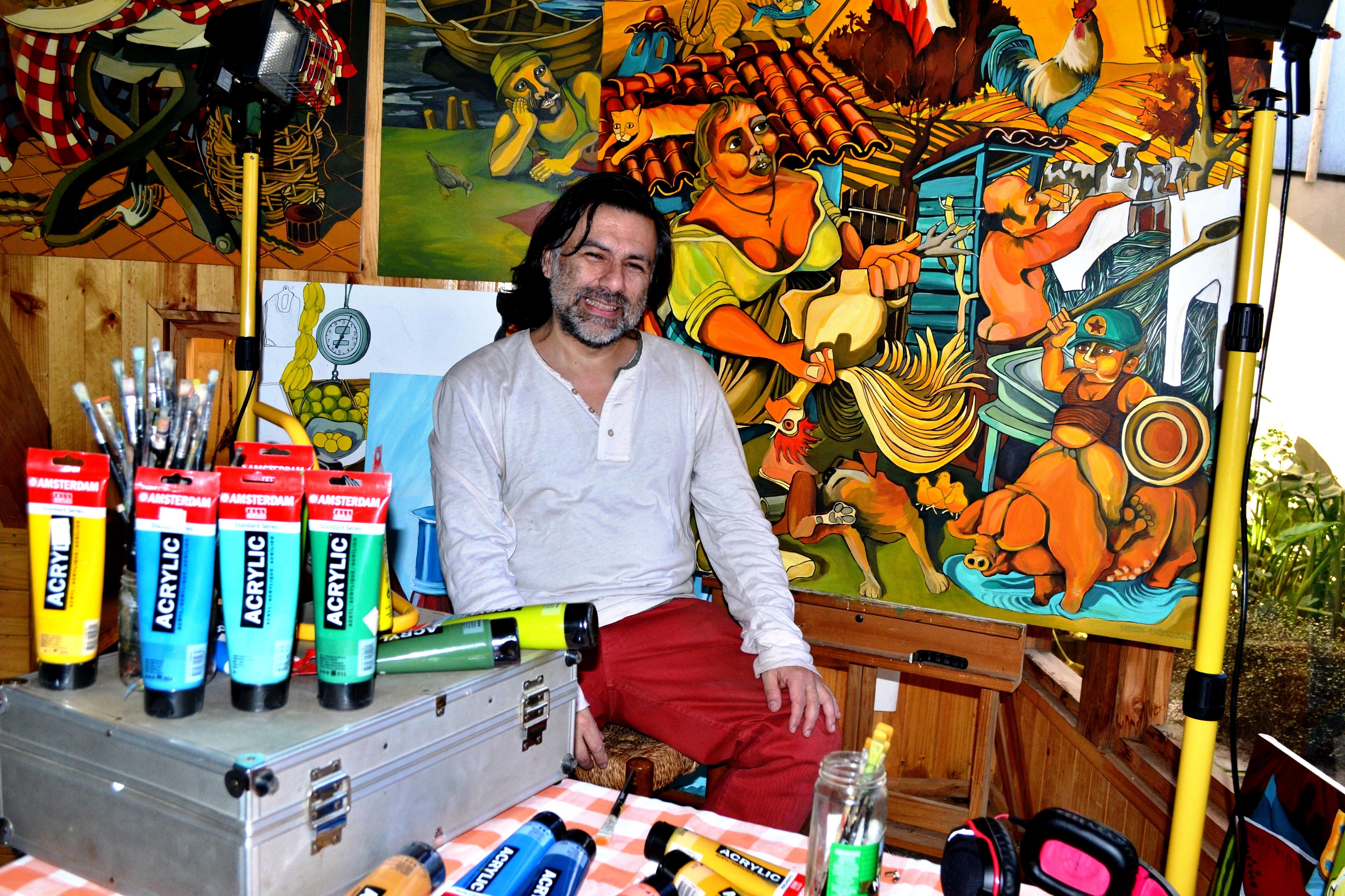 Desde mi taller: Leonardo Sepulveda
