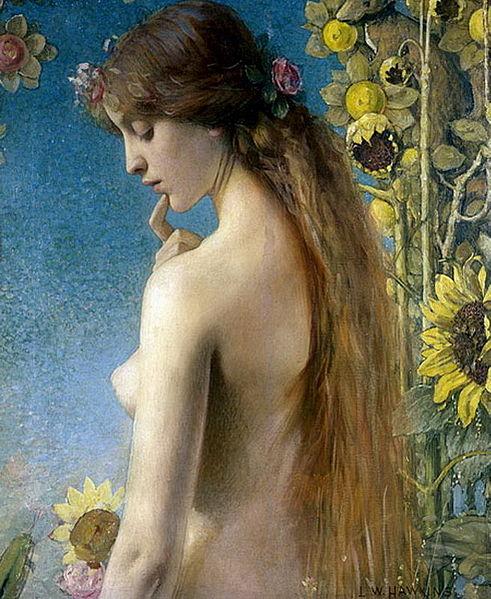 Louis Welden Hawkins: el perfume femenino del retrato