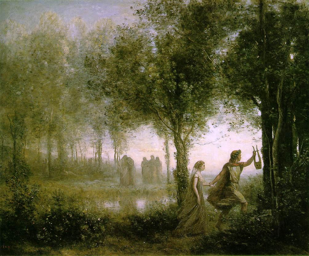 Orfeo y Eurídice: muerte y destino de los amantes