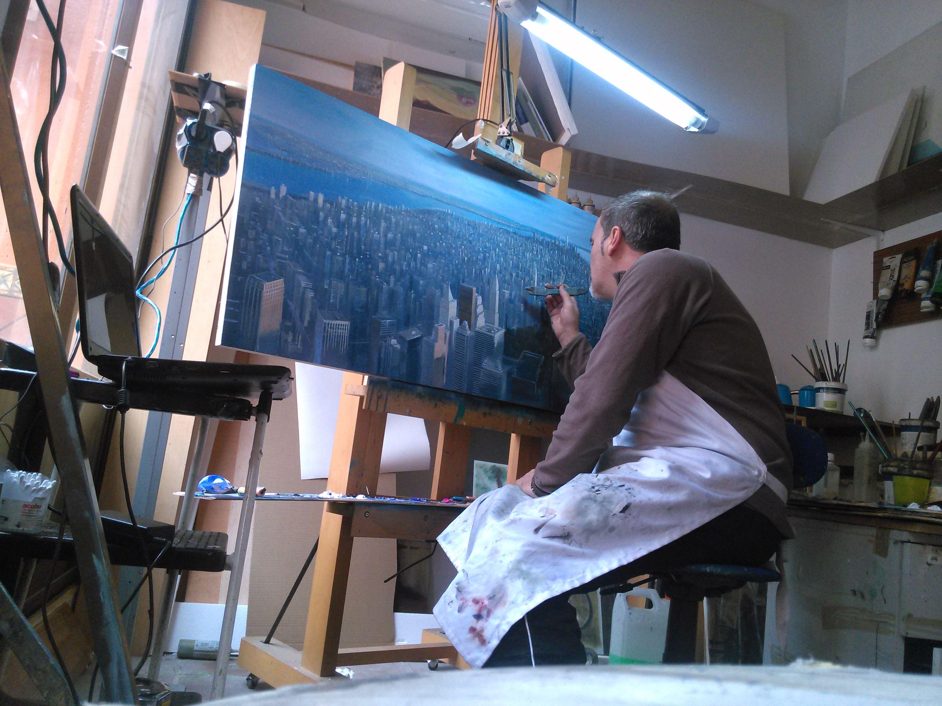 Desde mi taller: Rafael Carrascal