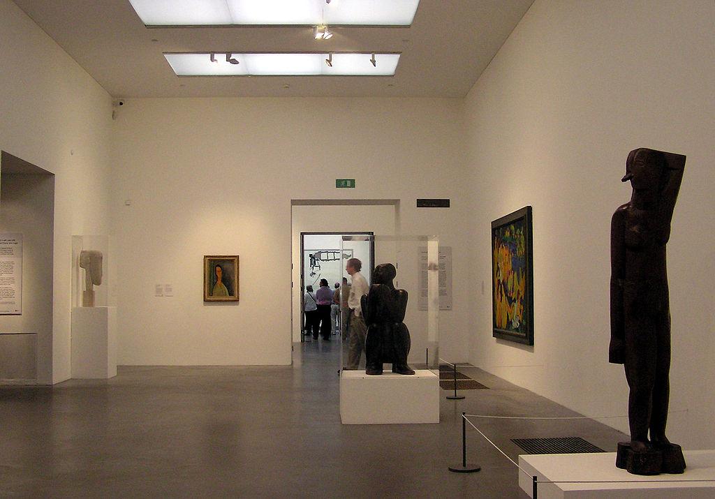 Interior de la Galería del Tate Modern Museum de Londres