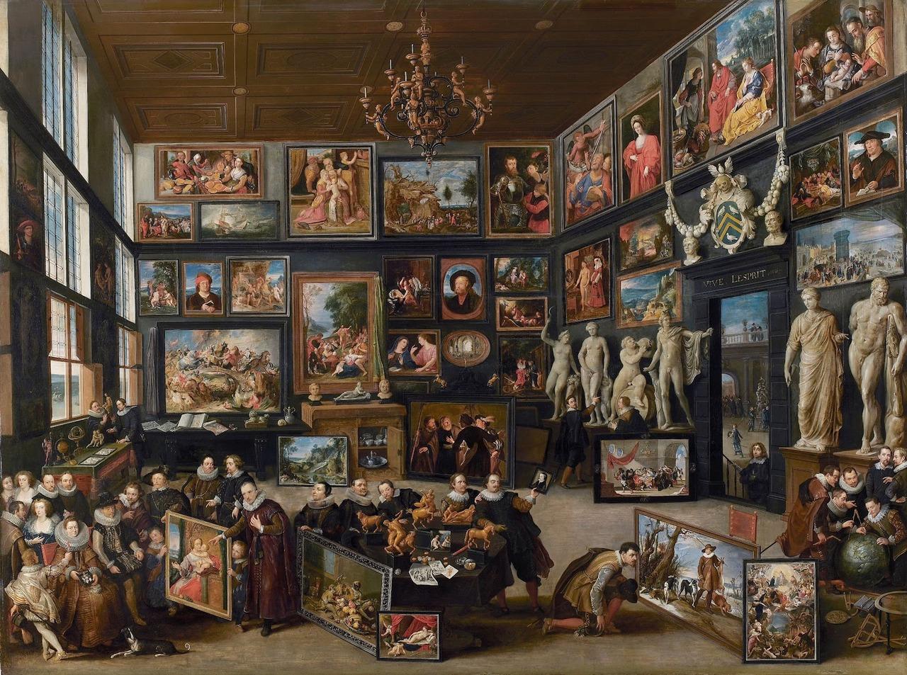 La galería de Cornelis van der Geest. 1628. Willem van Haecht