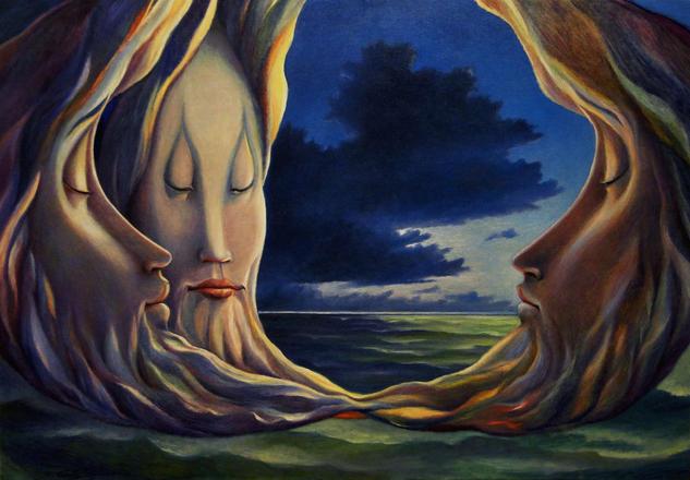 Convivio de las lunas, Carlo Salomoni