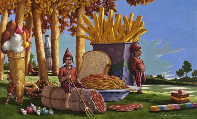 Alimentos desfavorables, Carlo Salomoni