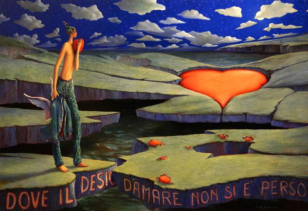 Donde el deseo de amar no es perdido, Carlo Salomoni