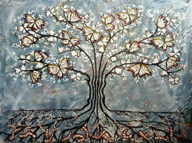 Sembrando mariposas blancas. El árbol de la suerte, Elena Barón.