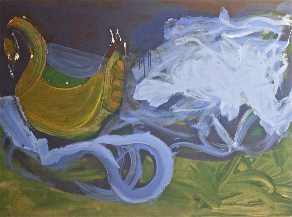 Cisne y nebulosa, Jesús Cuenca