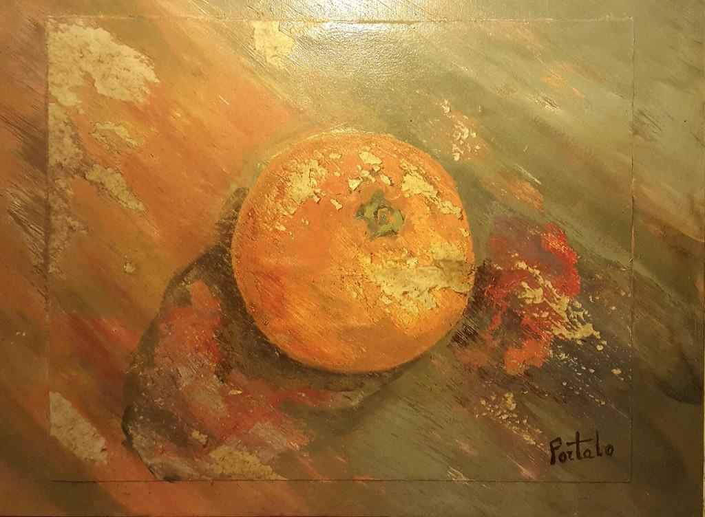 Mi naranja entera, Antonia Portalo.