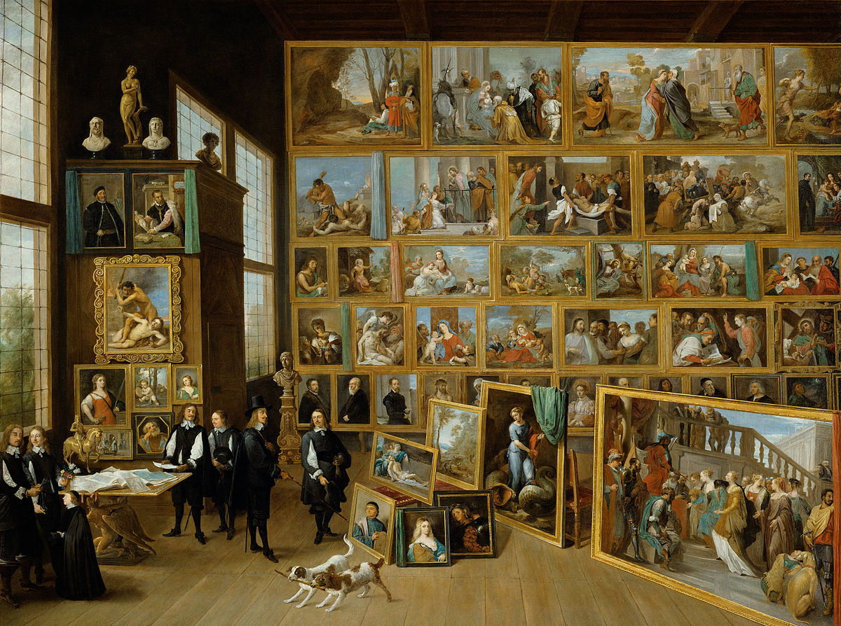 Breve Historia del Coleccionismo V – El Gabinete de Pintura y su representación