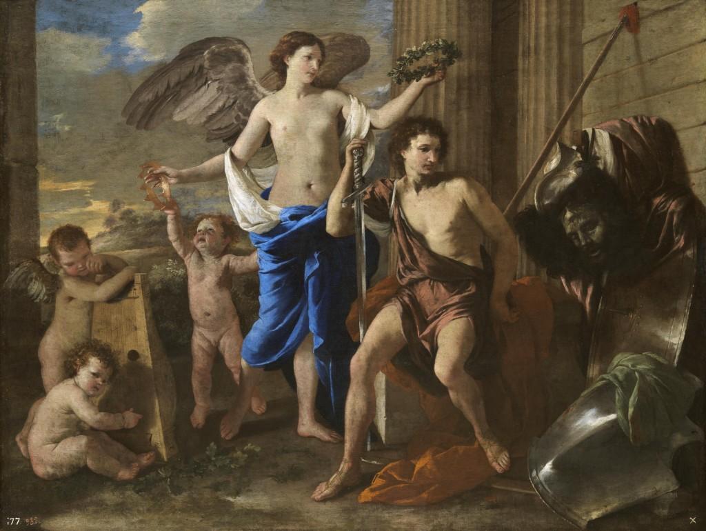 El Triunfo de David (ca. 1630), Nicolás Poussin, Museo del Prado (Madrid).