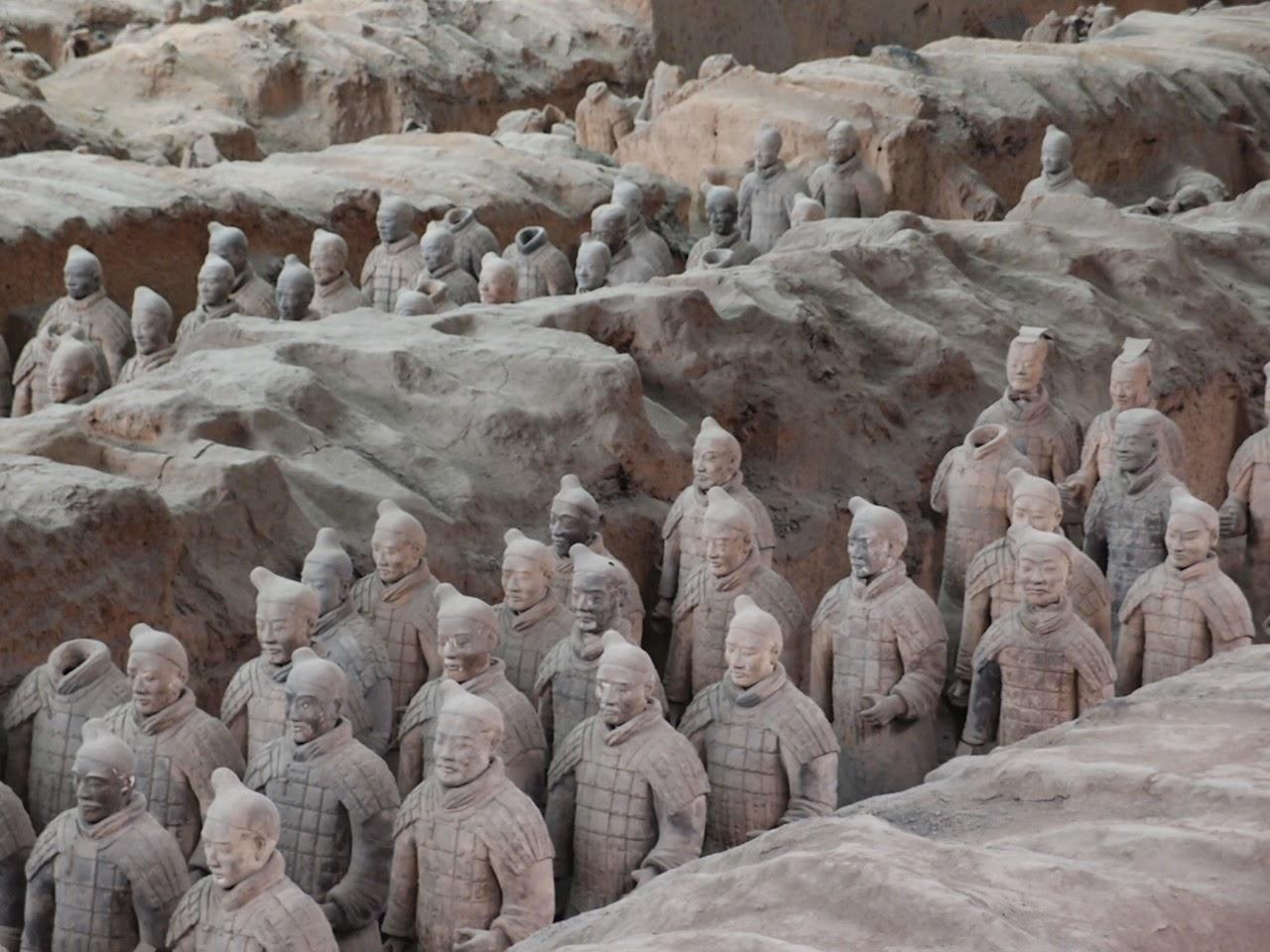 Los Guerreros de Xi'an: del mito a las exposiciones internacionales