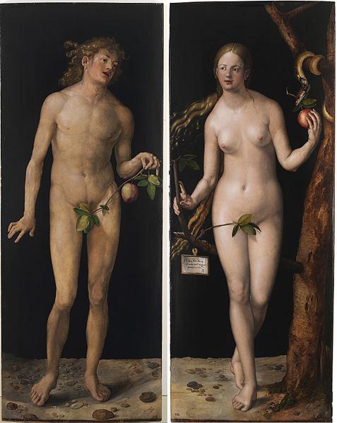 Adán y Eva (1507), Alberto Durero.