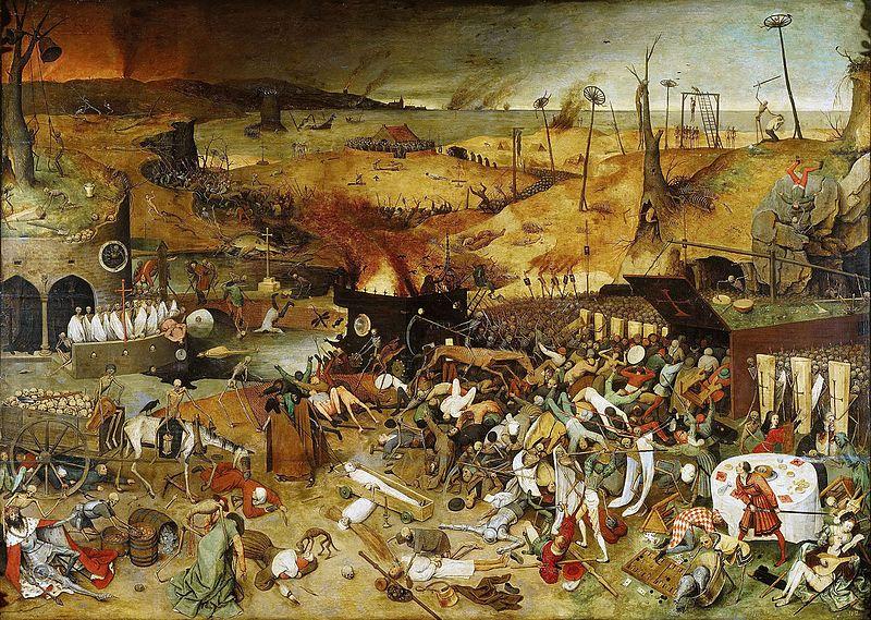 El Triunfo de la Muerte (c. 1532), Pieter Brueghel el Viejo.