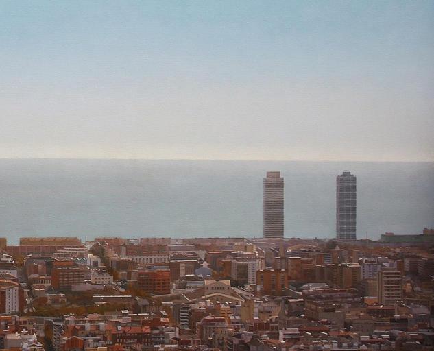 Barcelona des del Guinardó, Xavier Moreno Prats